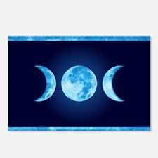 Three Phase Moon Postcards (Package of 8)