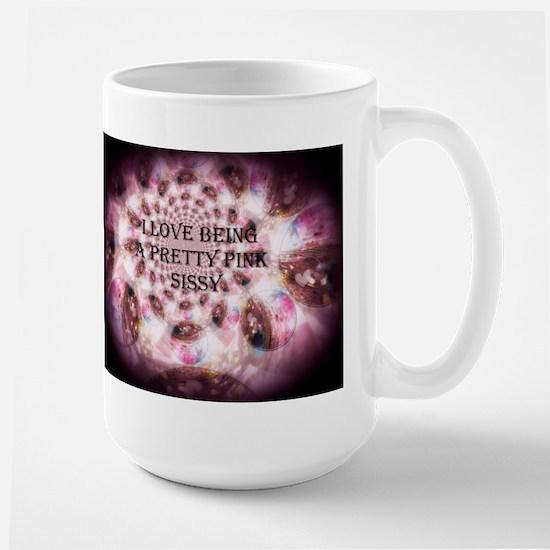I love being a pretty pink Sissy Mugs