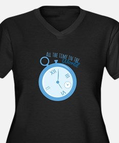 All The Time Plus Size T-Shirt