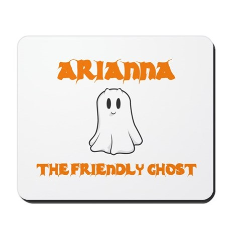 Arianna the Friendly Ghost Mousepad