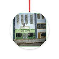McKenzie's Art Ornament (Round)