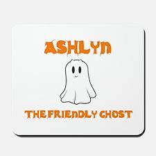 Ashlyn the Friendly Ghost Mousepad