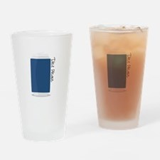 Diet Please Drinking Glass