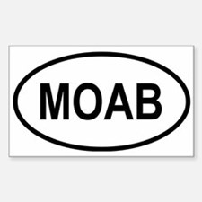 Cute Moab Decal