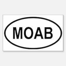 Unique Moab Sticker (Rectangle)
