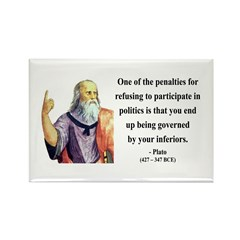 Plato 5 Rectangle Magnet (100 pack)