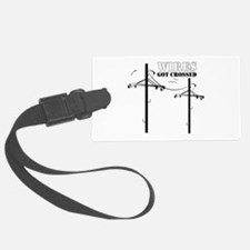 Wires Got Crossed Luggage Tag