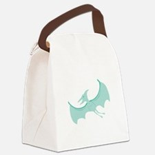 Pterodactyl Canvas Lunch Bag