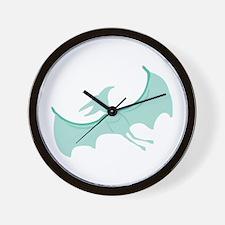 Pterodactyl Wall Clock
