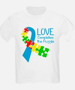 Love Completes The Puzzle T-Shirt