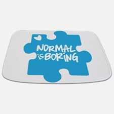 Normal Is Boring Bathmat