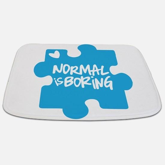 Normal Is Boring Bathmat