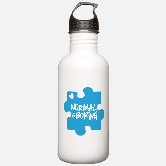 Normal Is Boring Water Bottle