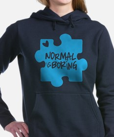 Normal Is Boring Women's Hooded Sweatshirt