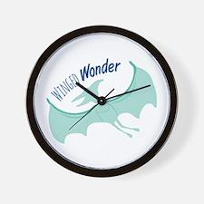 Winged Wonder Wall Clock