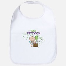 Little Boys 1st Birthday Bib
