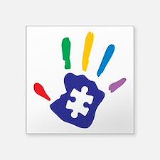 Autism Puzzle Hand Sticker