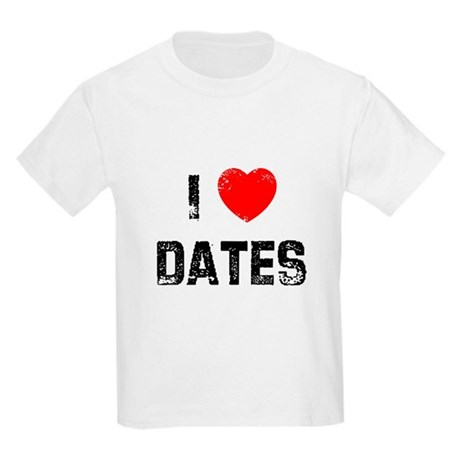 I * Dates Kids Light T-Shirt