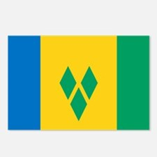 Saint Vincent and the Grenadines Postcards (Packag
