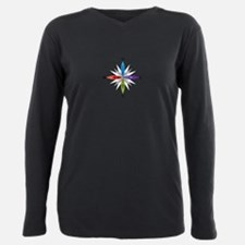 Directions Plus Size Long Sleeve Tee