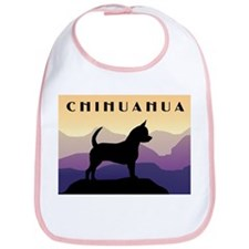 Chihuahua Purple Mountains Bib