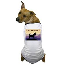Chihuahua Purple Mountains Dog T-Shirt