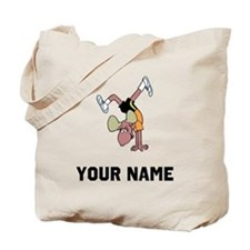 Moose Handstand Tote Bag