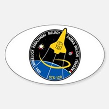 STS 120 Discovery Oval Decal