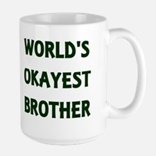 World S Okayest Brother Travel Mug