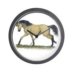 Buckskin Takin off Wall Clock