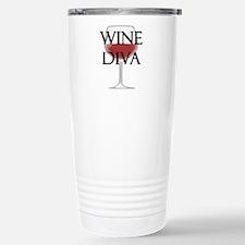Wine Diva Stainless Steel Travel Mug