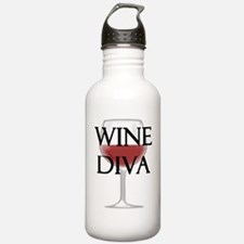 Wine Diva Water Bottle