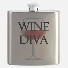 Wine Diva Flask