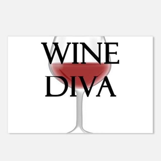 Wine Diva Postcards (Package of 8)