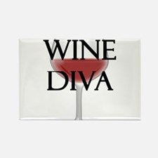 Wine Diva Magnets