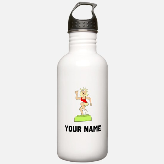 Step Aerobics Sports Water Bottle