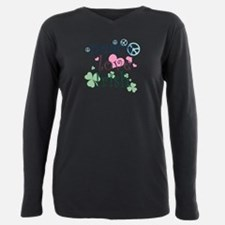 2-peace_love_irish_t.png Plus Size Long Sleeve Tee