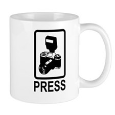Press Pass Mug