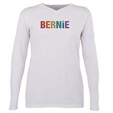 Bernie Vintage Rainbow Plus Size Long Sleeve Tee