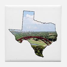 Unique Capital Tile Coaster