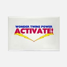 Wonder Twins Rectangle Magnet