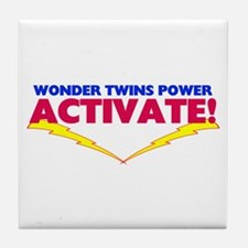 Wonder Twins Tile Coaster