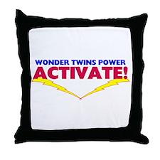 Wonder Twins Throw Pillow