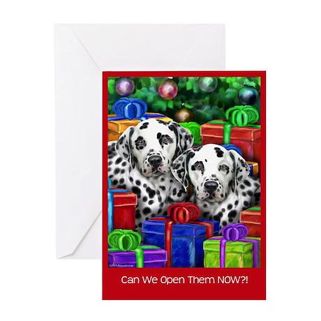 Dalamatian Christmas Greeting Card