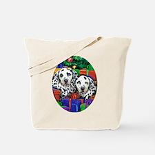 Dalamatian Christmas Tote Bag