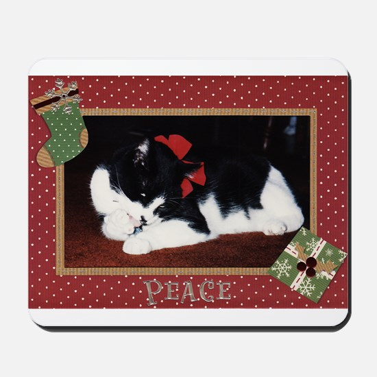 Peace Kitty Mousepad