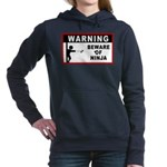 new_ninja_shirt.jpg Women's Hooded Sweatshirt