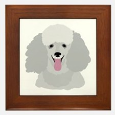Toy Poodle Framed Tile