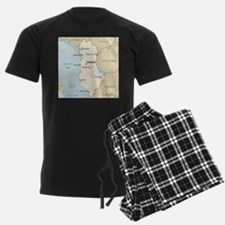 Albanian Map Pajamas