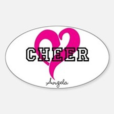 Love Cheer Heart Decal